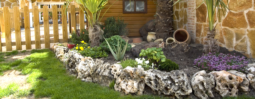 El reino plantae lograr atractivos jardines con piedras - Como decorar jardines con piedras ...